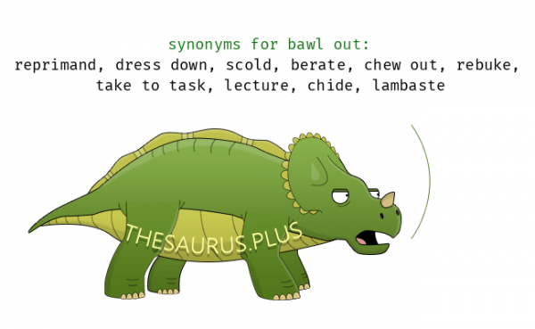 61 Words related to BAWL, BAWL Synonyms, BAWL Antonyms - Word list