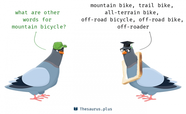 9 Words related to BICYCLE, BICYCLE Synonyms, BICYCLE